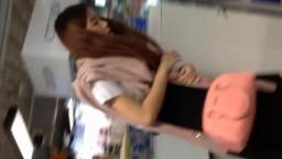 泰國學生妹抄底
