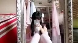 啪喵少女對鏡自慰