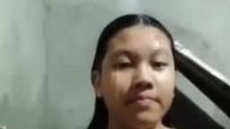 馬來西亞妹妹洗澡